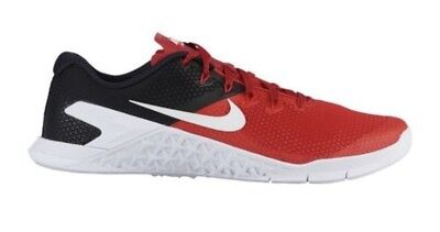 50b182af814d NIKE MEN S METCON 4 University Red Black White Size 11 -  58.00 ...