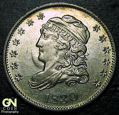 1830 Capped Bust Half Dime R2 V3 LM4  --  MAKE US AN OFFER!  #O5696