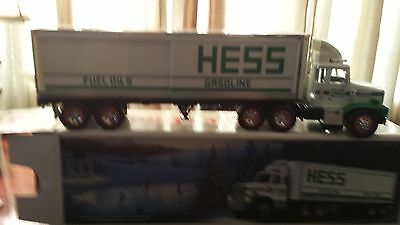 1987 Hess Truck, 3 Barrel's Loose, Comes With Poor To Fair Box