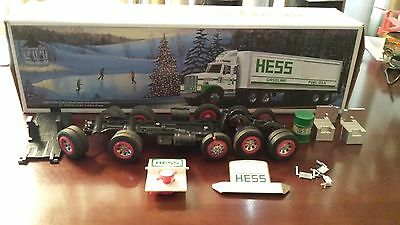 "1987 Hess Truck Parts, All Original, No Repro's,"" Price Reduced"", Take A Look"
