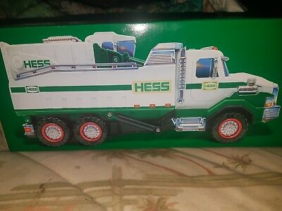 2017 Hess Dump Truck And Loader Batteries Included