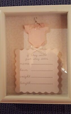 Baby Birth Picture Frame