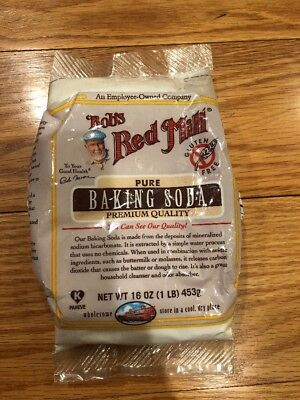 Bobs Red Mill Pure Baking Soda 10 Oz