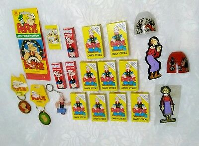 Lot of Vintage Popeye King Features  syndicate Olive Oyle 1974-94