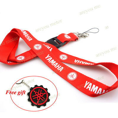 Lanyard Straps Neck Keychain Phone Card Holder For Yamaha YZF R1 R3 R6 R125 R25