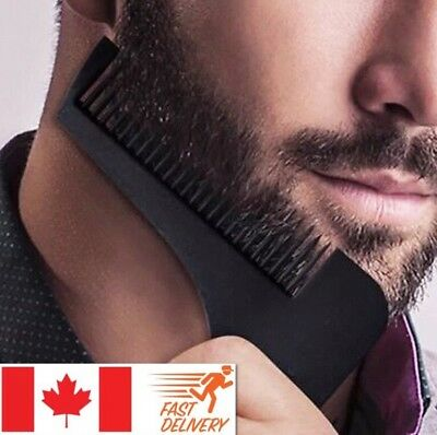 Beard Shaping Template Comb Facial Hair Styling Perfect Lines And Symmetry Tool