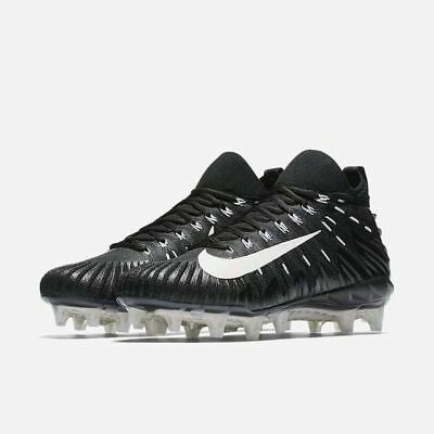 08cc1f8fe Nike Alpha Menace Elite Football Cleats Flyknit Black White ( 871519-010 )  NEW