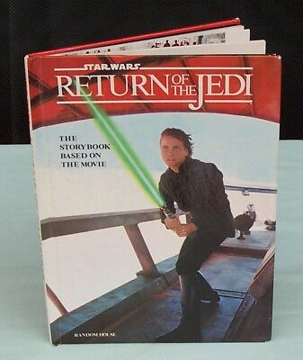 Star Wars Return Of The Jedi Annual  The Story Book Based On The Movie c1983