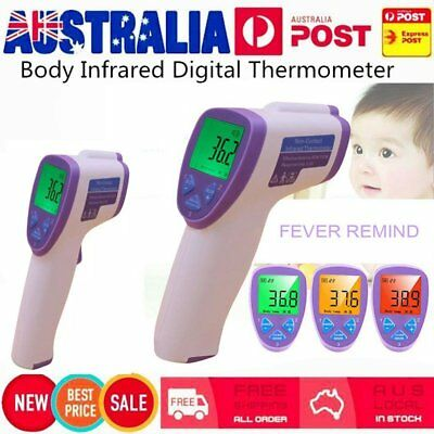 Non-Contact Body Infrared Digital Thermometer Instant Reading LCD Display Baby