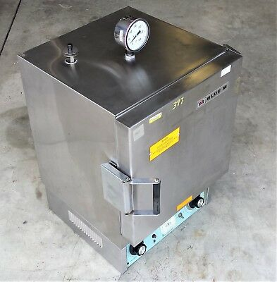 Blue M OV-712A Stabil-Therm Gravity Oven, 260C/500F w/ Temp Gauge, 120V AC