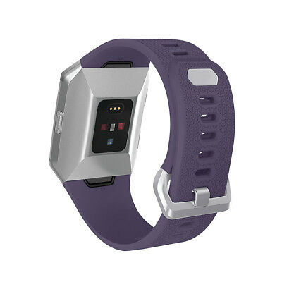Genuine Silicone Watch Band Wrist Strap for Fitbit Ionic Smart Fitness Watch