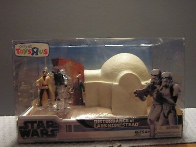 Star Wars Disturbance at Lars Homestead, Toys R US Exclusive by Hasbro Toys