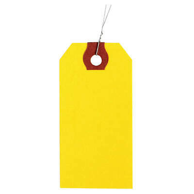 GRAINGER APPROVED Wire Tag,Paper,Blank,PK1000, 1GYU2, Yellow