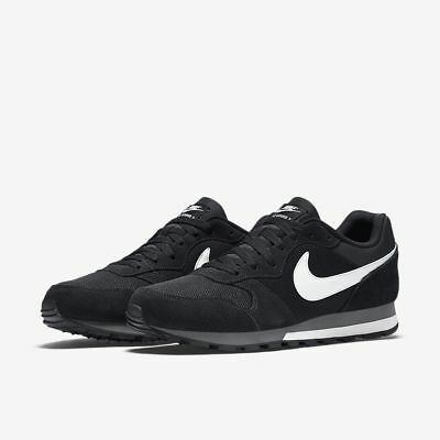 82789dea826 nike md md md runner 2 faible nous 844857 010 voile noire anthracite de  taille f5a11c