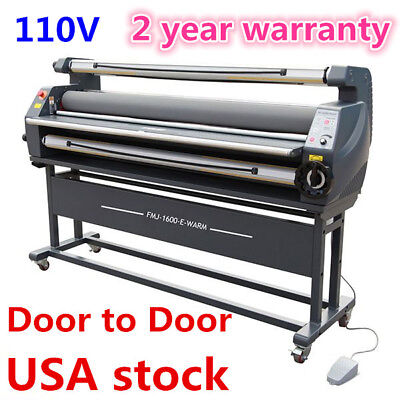 "US-63"" Luxury Full Auto Heat Assisted Large / Wide Format Cold Laminator Machine"