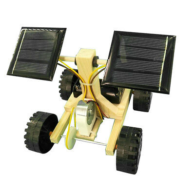 DIY Solarbetriebene Hybrid Driven Toy Car Kit Kid Erziehungswissenschaft