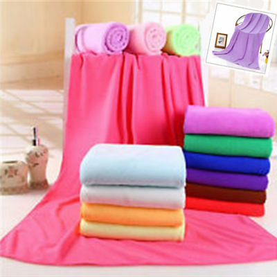 Comfortable Absorbent Micro Fiber Beach Drying Bath Washcloth Shower Towel