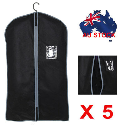 SUIT DRESS CLOTHING DUST COVER BAGS Jacket Wardrobe Storage Coat Protector
