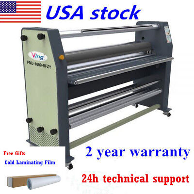 "US Stock 63"" New Type Full-auto Wide / Large Format Hot / Cold Laminator Machine"