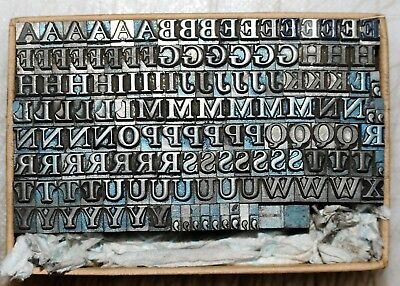 18pt  Part Font Metal  Letterpress Type   #  Adana user  #