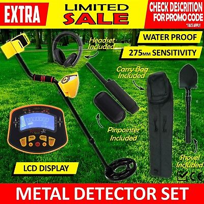 Metal Detector Pinpointer Deep Sensitive Searching Screen Treasure Gold Hunt