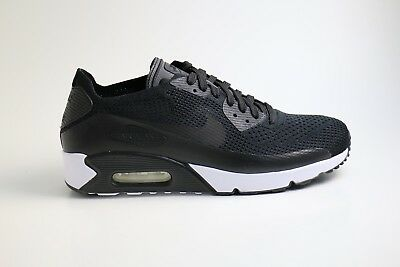 Nike Air Max 90 ULTRA 2.0 Flyknit Black Weiss EU 44,5 US 10,