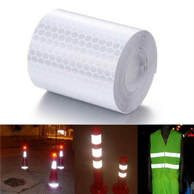 Caution Reflective Tape Safety Warning Tape Sticker adhesive tape 5*100cm Nice
