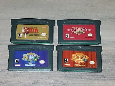 Legend of Zelda: The Minish cap Link to the past Oracle of Ages and Seasons GBA!