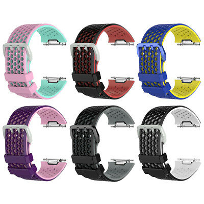 SOFT Silicone Sport Wristwatch Band Strap Bracelet For Fitbit Ionic Smart Watch