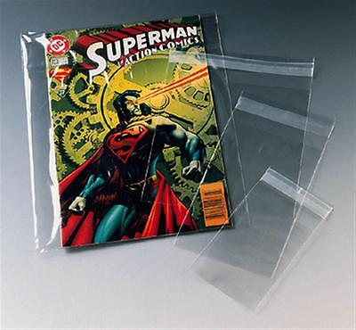 Protective magazine comic protector dust cover self seal reusable MIXED SIZES!!