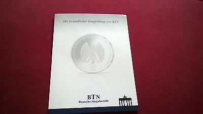 500 Jahre Reformation Martin Luther - Silber (333/1000) Stgl. - unc, !!!
