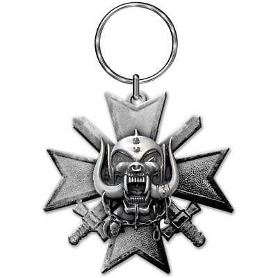 Motorhead Keyring Keychain lemmy Hammered band logo new Official metal Size One