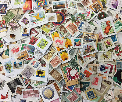 World Used Postage Stamp Mix on Paper NO GB - 1KG - GENUINE CHARITY DIRECT