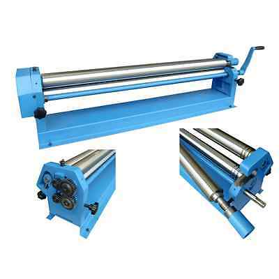 40 Metz Tools Sheet Metal working Slip Roll tool machine 610mm x 38mm rolls