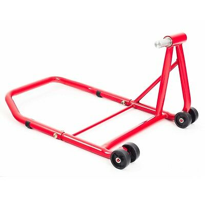 Ducati 1098 R 2008 Single Sided Red Rear Paddock Stand