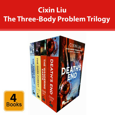 Cixin Liu The Three-Body Problem Trilogy 4 Books Collection Set Pack Fiction NEW