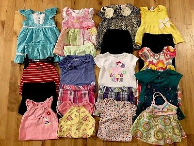 Baby GIRLS Clothes Lot Sz 6-9 -12 months SPRING/SUMMER 22 pieces Free shipping