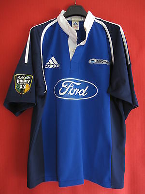 Maillot Rugby ADIDAS Auckland Blues Nouvelle Zélande Vintage Ford Jersey - XL