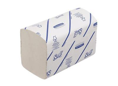 Pack of 10 SCOTT Xtra Hand Towels I-fold 1-ply White 240 Sheets Ref 6669 WW