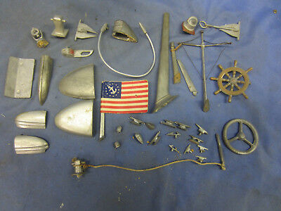 Vintage Model Boat Parts, Very Rare, New
