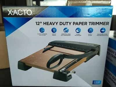 X-Acto Elmers Heavy Duty Paper Trimmer 12 Inch  26312