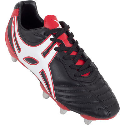 Clearance Line New Gilbert Sidestep XV Lo Cut Soft Toe Rugby Boot Size 14