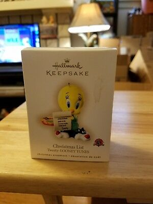 2007 Hallmark Tweety Bird Ornament