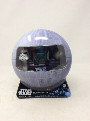 PEZ Star Wars Rogue One Collectible Gift Tin Four Pez with Candy NEW!!!