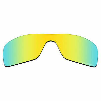 a36973966ff2f RAWD Anti-SeaWater Replacement Lenses for-Oakley Batwolf - 24K Gold