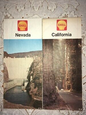 Shell Oil Company 1964 Gas Station Maps Lot