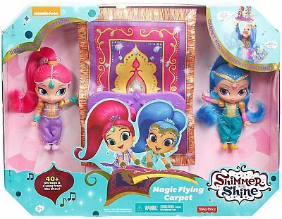 Shimmer and Shine Magic Flying Carpet Doll Playset Kids Toy Gift Present Fun
