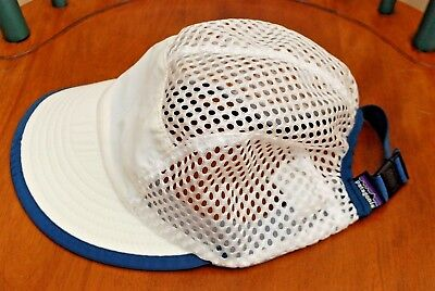Vintage 90 s PATAGONIA Mesh Hat Cap Cycling Outdoor Hiking Size Small USA  Made b02ca3384975