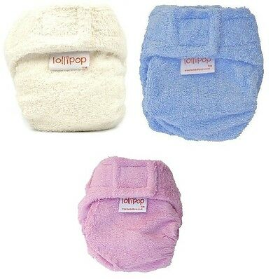 5 x Bamboo shaped reusable nappy (7-16lbs; choose your colours) GREAT VALUE!!