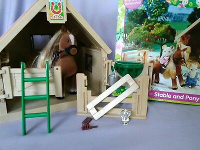 calico critters Sylvania families stable and pony